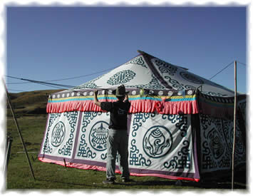 ZOGE-The traditional custom canvas tents  :  tibet outdoor tent garden party